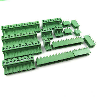 KF2EDG-5.08mm-2/3/4/5/6/8/10/12P Plug-In Screws PCB Terminal Blocks Sets
