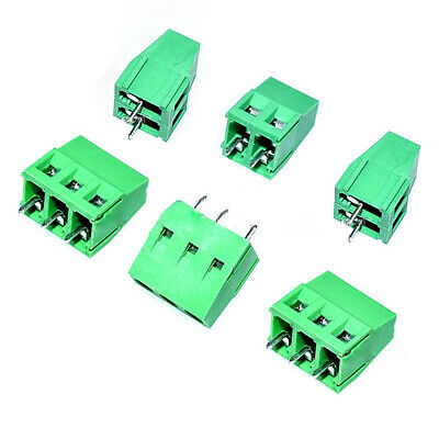 KF128-2P/KF128-3P 3.81mm/5.0mm/7.5mm Pitch Screws PCB Terminal Blocks Connector