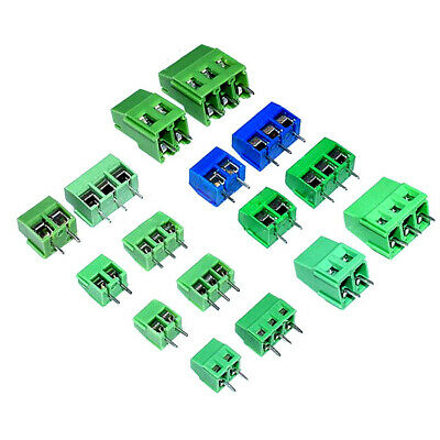 KF301/126/128/129/3.5/3.96MM 2P/3P Pitch 5mm PCB Terminal Blocks Connector