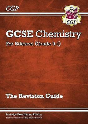 New Grade 9-1 GCSE Chemistry: Edexcel Revision Guide with Online Edition by CGP