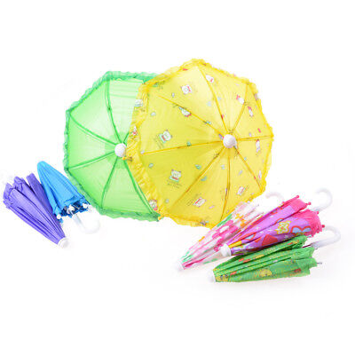 Doll Accessories Umbrella For 16 Inch 18 Inch Doll Toys Girls Christmas Gift AU