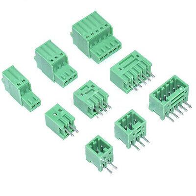 2EDG-2.5mm Pitch 2P/3P/4P/5P/6P/8P Pin Socket Spring Plug Terminal Blocks