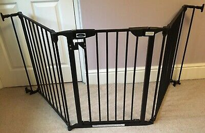 1x 18cm Wide Baby Gate Dreambaby Hallway Safety Gate with Extension 1x 9cm