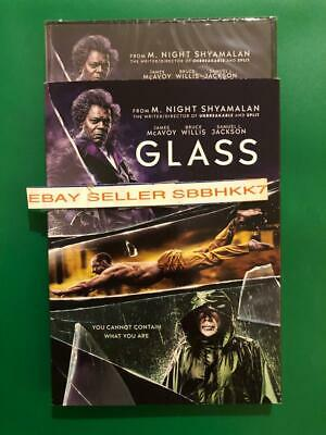 Glass DVD W/Slipcover **AUTHENTIC DVD READ** Brand New Sealed Free Shipping
