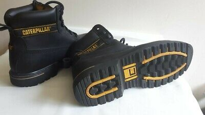 3471e6c6ccc CATERPILLAR HOLTON MENS Honey/Yellow SB Safety Steel Toe Cap Lace Up ...