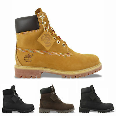 cf794339cd Timberland Boots NEW Timberland 6 Inch Boots Wheat Yellow/Black-100% GENUINE