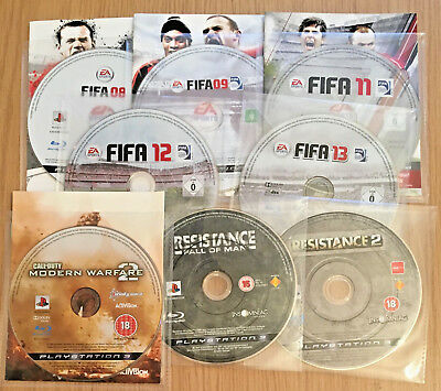 Joblot of 8 Playstation 3 (PS3) Games, No Duplicates, Discs Only