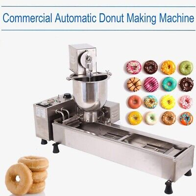 Commercial Automatic Donut Maker Making Machine With 3 Sets Free Mold