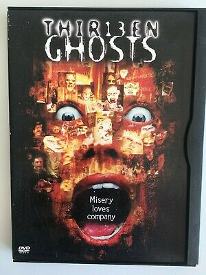 Thirteen Ghosts (DVD, 2006) Canadian-American Supernatural Horror, Clip Case, R1
