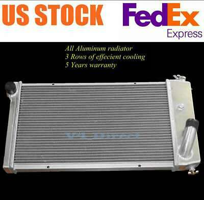 Champion 3 Row Aluminum Radiator CC432 For 71-77 Chevy Vega 75-76 Pontiac Astre