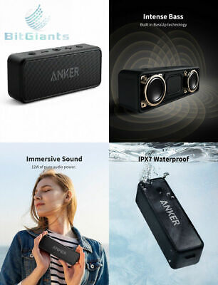 Anker Soundcore 2 Portable Bluetooth Speaker with 12W Stereo Sound, 5,...