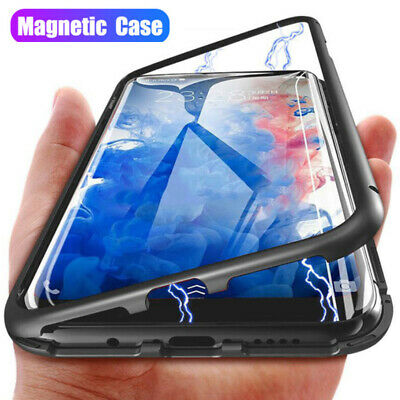 Magnetic Adsorption Glass Case Cover For Xiaomi 9 8 F1 Redmi 6A 7 Note 7 6 5 Pro