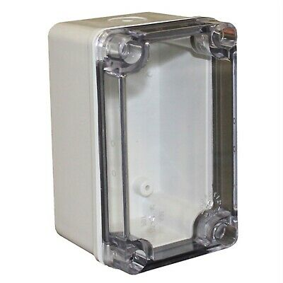 CamdenBoss CHDX6-323C X6 Series ABS Transparent Lid 130x80x70 IP66/67