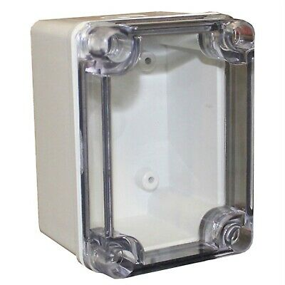 CamdenBoss CHDX6-321C X6 Series ABS Transparent Lid 110x80x70 IP66/67