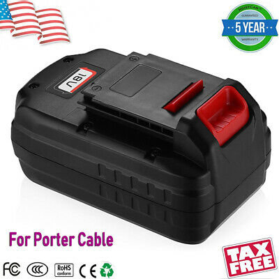 For Porter Cable PC18B PCC489N 18V 18 Volt Battery PC186CS PC1800L PC1801D Tools