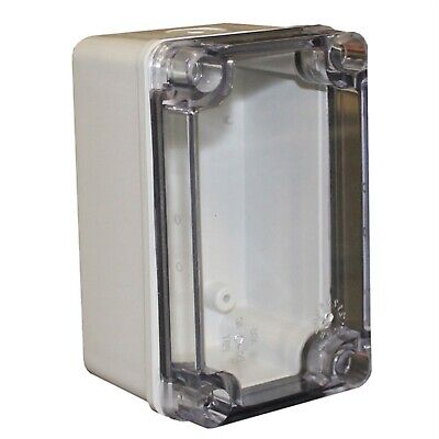 CamdenBoss CHDX6-224C X6 Series Polycarb Transparent Lid 130x80x85 IP66/67