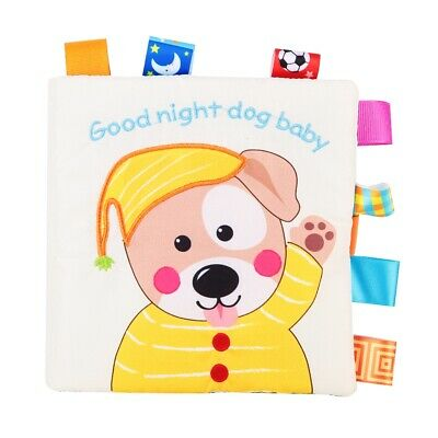 Colorful Cloth Bed Cognize Book Early Educational Toy Book Children Kids