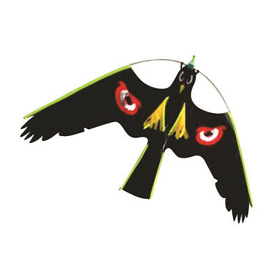 Large Hawk Kite Birds Scarer Protect Farmers Crops Windsock Scarecrow Toy #3