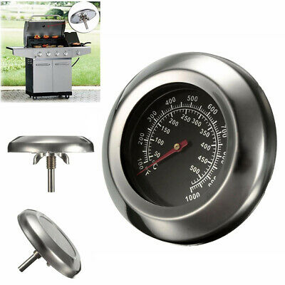 BBQ Smoker Grill Steel Barbecue Thermometer Temperature Gauge 0X 60-430