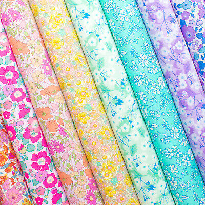Liberty of London Felt Backed Fabrics - Craft & Bow Fabric - Premium Fabric Felt