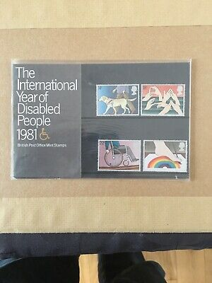 GB 1981 Presentation Pack 125. International Year of the Disabled.