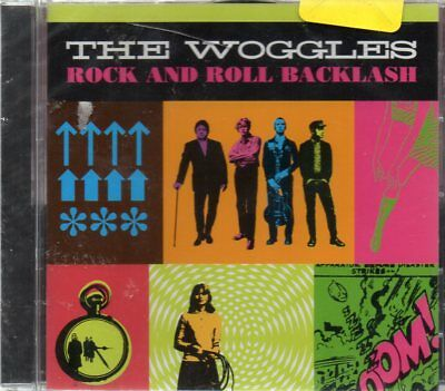 The Woggles - Rock and Roll Backlash CD - New & Sealed