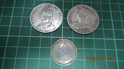 Victorian Silver Coin Group