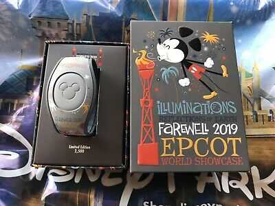 Disney Epcot Illuminations Reflexions Of Earth 2019 MagicBand Magic Band In Hand