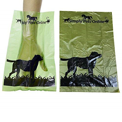 Dog Poop Bags - 180 x Eco Poo Sacks, Leakproof and Recyclable Pet Waste Bag, 12