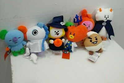 [Pre-order] 2019 BT21 Halloween standing doll bts line friends official