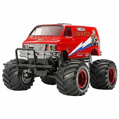 Tamiya RC 1/12 Lunch Box Wheelie Monster Red Edition 47402 EMS w/ Tracking NEW