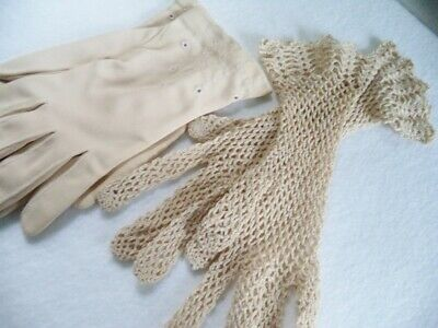 2 Pair of Antique and Vintage Gloves