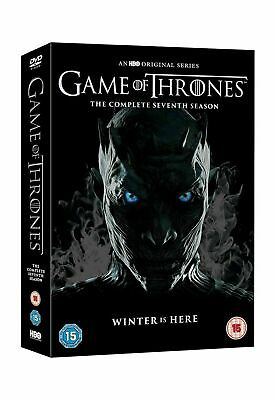 Game of Thrones Season 7 DVD box set t Conquest & Rebellion 2017 UK Seller