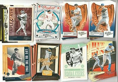 2019 Panini Leather & Lumber Retail YOU PICK, Base, Insert, Parallel, & More