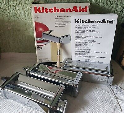 KitchenAid kitchen aid Nudelvorsatz Nudelroller Set 3 X
