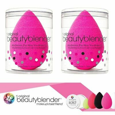 2 x Original Beauty Blender Sponge in Pink Foundation Wedge Puff Make Up Beauty