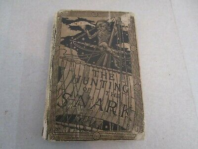 The Hunting of the Snark. An Agony, in Eight Fits - 1st US Edition 1876