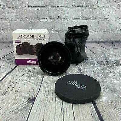 Altura Photo 52MM .43X Wide Angle HD Lens with Macro & Pouch