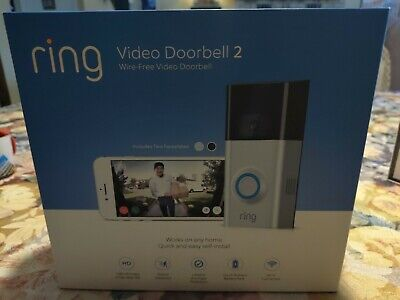 RING VIDEO DOORBELL Elite 8VR1E7-0EN0 1080HD 2-Way Talk - $475 00