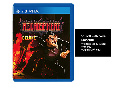 Necrosphere Deluxe PS Vita Strictly Limited Games #20 Limited Run Sealed SoldOut
