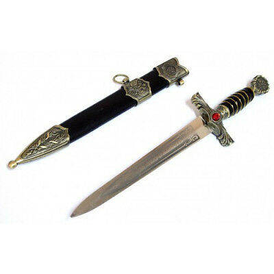 "15.5"" Roman Collectible Ornate Medieval Dagger With Sheath -"