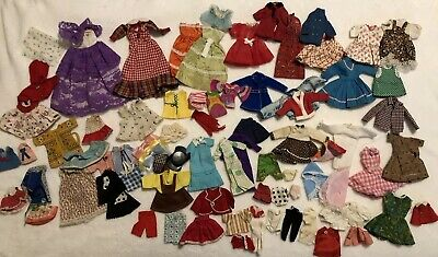 Vintage Barbie Francine Skipper Clothes Lot Dresses Shirts  Outfits TLC