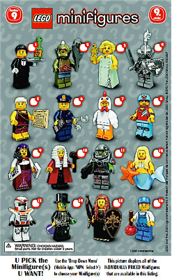 LEGO Collectible Minifigures Sets **SERIES 9**