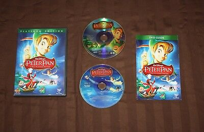 Peter Pan (Dvd) **Rare Disney Dvd** Authentic