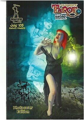 Tarot Witch of the Black Rose 105 PHOTO COVER edition signed Jim Balent