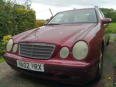 2002 MERCEDES E220 CDI TURBO DIESEL AUTO Classic - DRIVES - Spares or Repairs