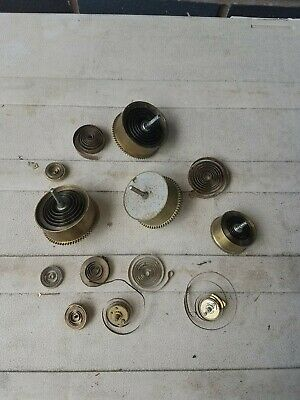 Antique Clock Parts  Spring Barrels