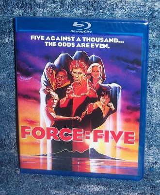 New Rare Oop Scorpion Richard Norton Force Five Martial Arts Movie Blu Ray 1981