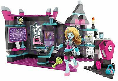 Mega Bloks Toy Monster High Biteology Class 194 Piece Playset with Lagoona Doll
