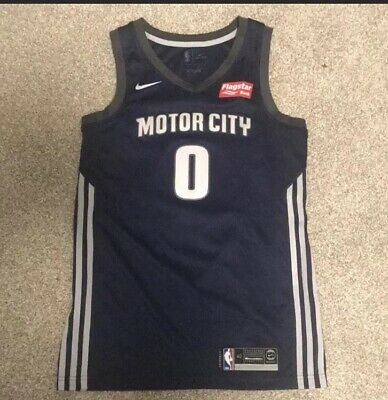 buy popular 4cb97 6a6da ANDRE DRUMMOND DETROIT Pistons NBA Adidas Motor City Jersey ...
